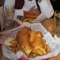 Fish and Chips in Ucluelet