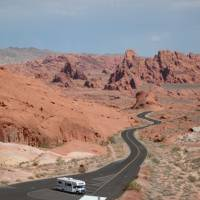 Valley of Fire rotsen