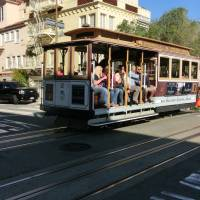 Cable Car at Lombart Street