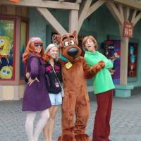 Scooby Doo and friends.