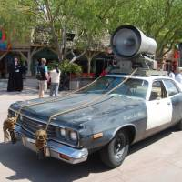 Jake and Elwood's car.