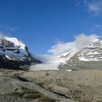 Dag 29: Icefield Parkway. Columbian Icefield.