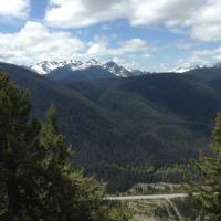 Panorama in Manning park