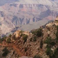 The South Kaibab Trail Grand Canyon