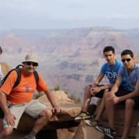 The Gruijtjes in The Grand Canyon