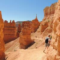 Wandeling in Bryce Canyon