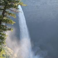 waterval in Wells Gray park