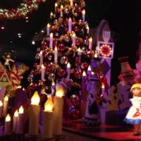 It's a small world in kerstsfeer