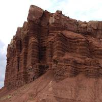 Egyptian Tempel, Scenic Road, Capitol Reef