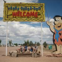 Fred Flinstone Bedrock city Park
