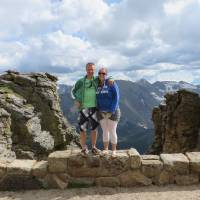 Ergens langs de Trail Ridge Road (Rocky Mountains)
