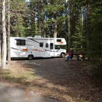 Mountain Tunnel RV camping