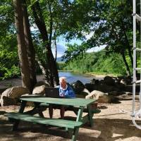 North Conway; Beach Camping Area