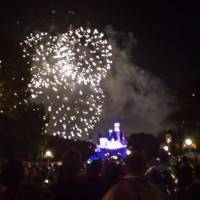 vuurwerk at disney