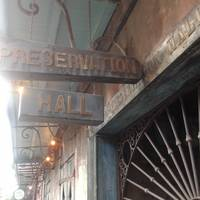 the preservation hall