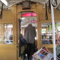 the cable car driver