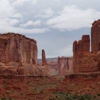 In het Arches National Park