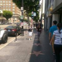 The Walk of Fame, Hollywood