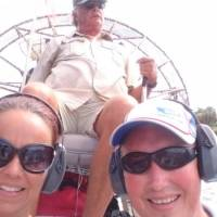 The airboat in the Everglades
