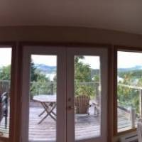View from our apartment in Tofino