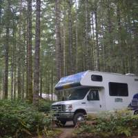 De camping in campbell river