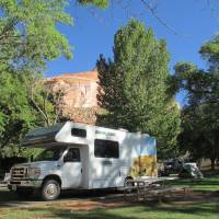 Fruita Campground in Capitol Reef