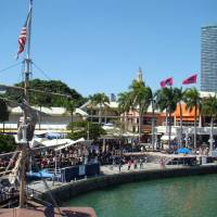 Bayside Marketplace in Miami Downtown