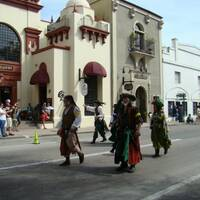 Celtic Parade in St. Augustine
