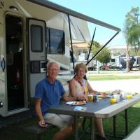 lunch op Camping KOA Orlando S.E./Lake Whippoorwill