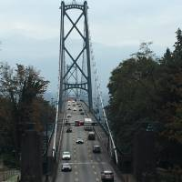 The lion gate bridge