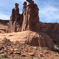 'Dames' in Arches Park