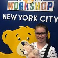 Build a Bear Workshop and a Happy Luna