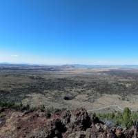 Butte in Lava Bed