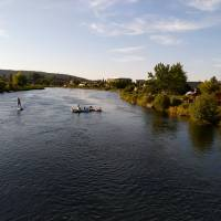 Floating river in Bend